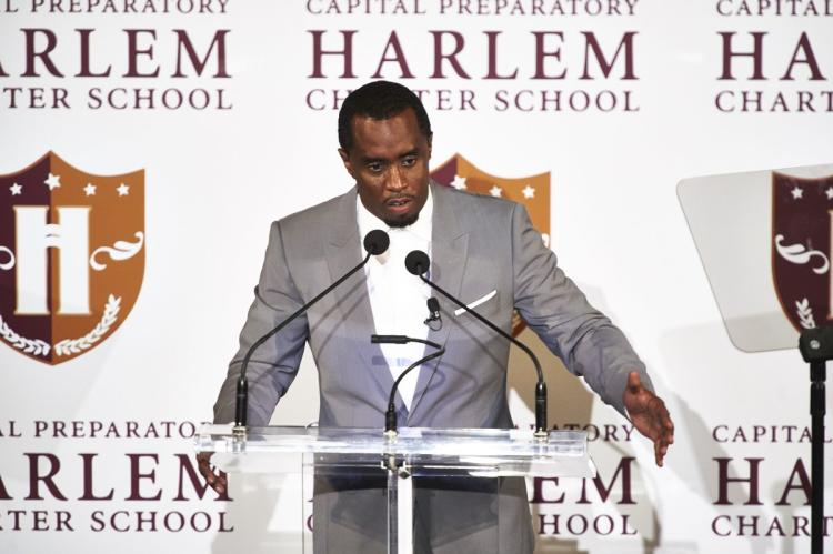 Sean Combs better known as Diddy announced last year he will open up a Charter school and the time is here. The Capital Preparatory Harlem Charter School is now accepting applications and today is the last day!  Click here . Congrats to Diddy and the Bad Boy Fam for for putting his money where his mouth is and leading by example. Now that's how change is made. Take That, Take That....#eachoneteachone