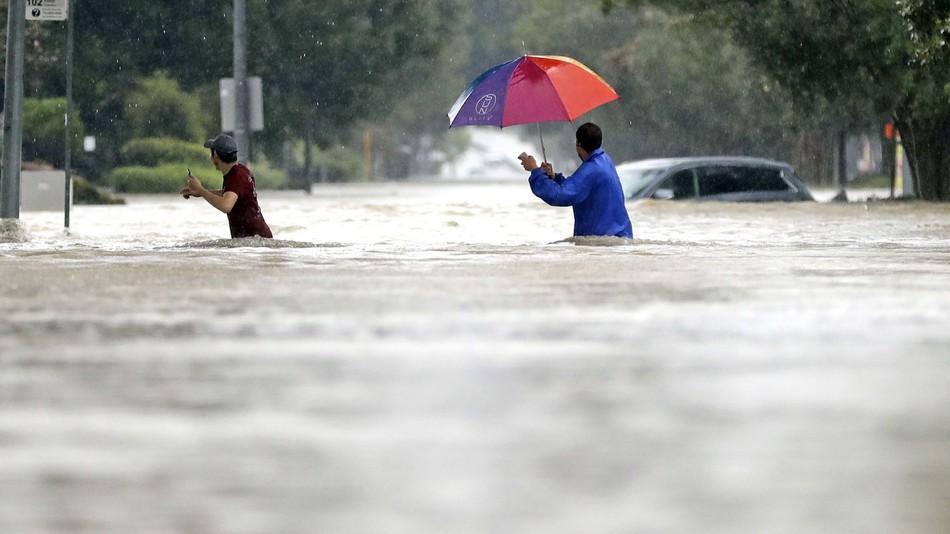 Hurricane Harvey in Houston.