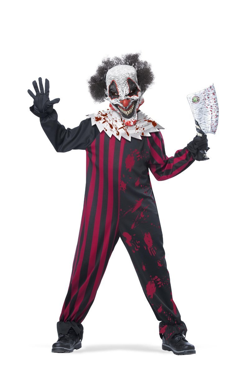 Boys Killer Clown Suit