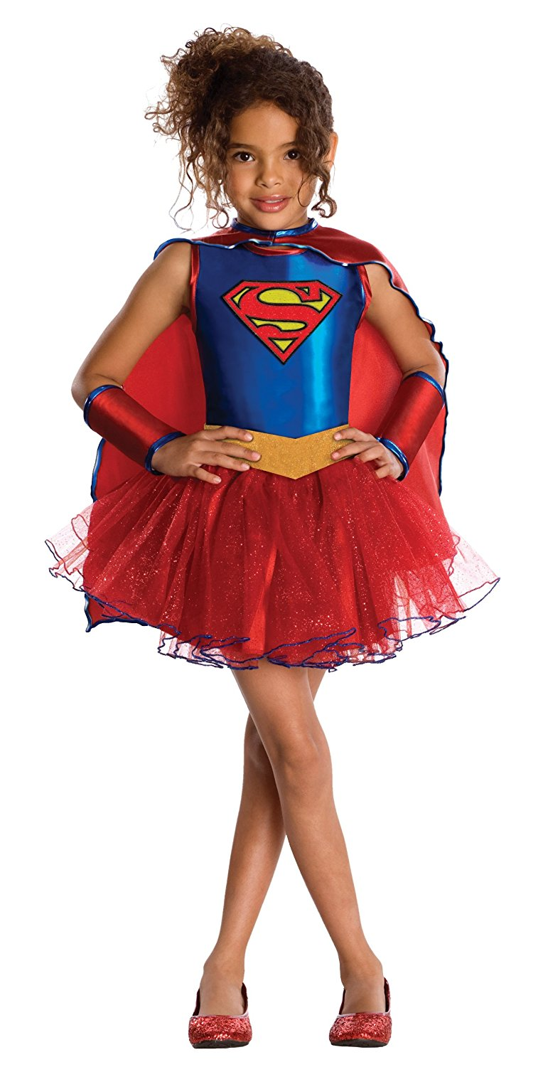 Girls Superwoman Suit