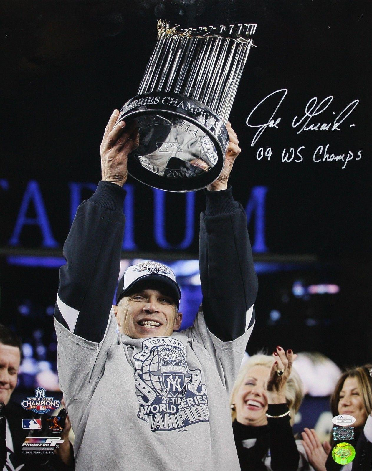 Joe Giradi First Championship at the New Yankees Stadium.  image by  Sportsmem