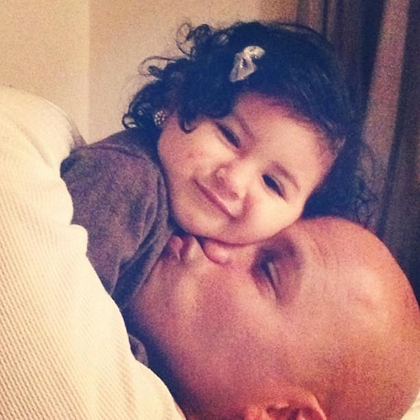 Daddy and Ella