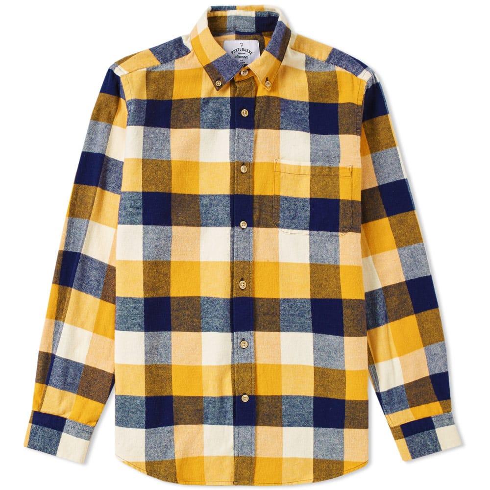 Portuguese Flannel Button Up