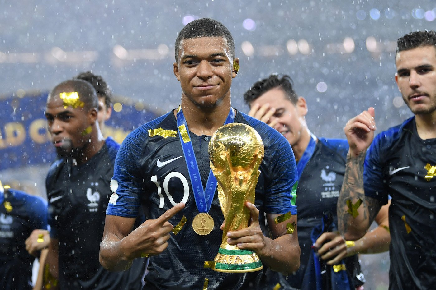 Kylian Mbappe World Cup Champion