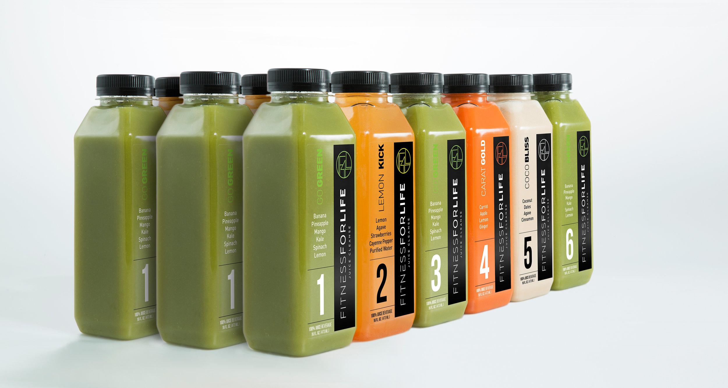 5 Days Juice Cleanse Set