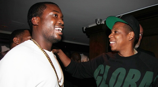 Meek Mill and JayZ at  40/40 Club