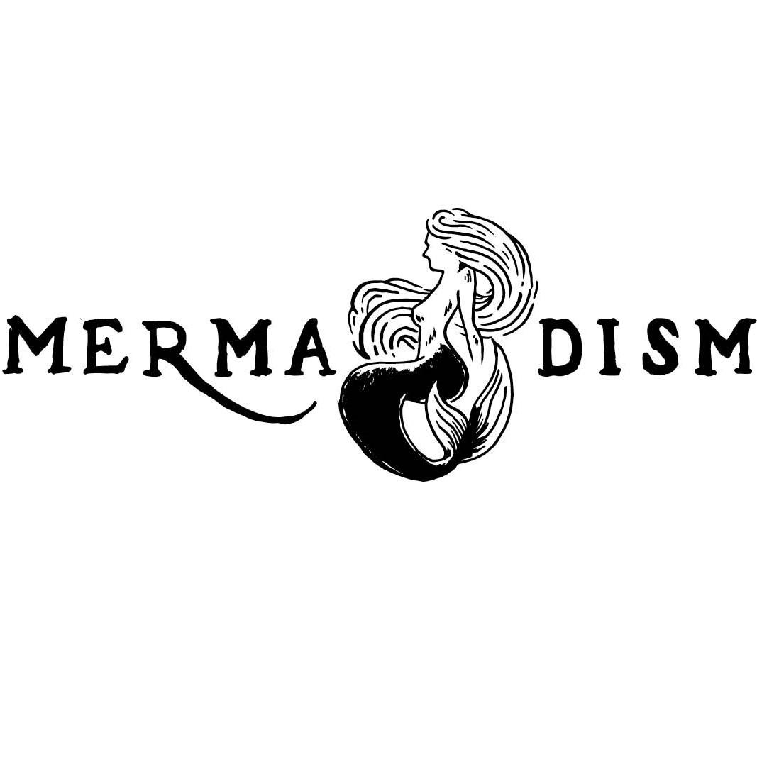 Mermaidism white background- black text & logo -.jpg