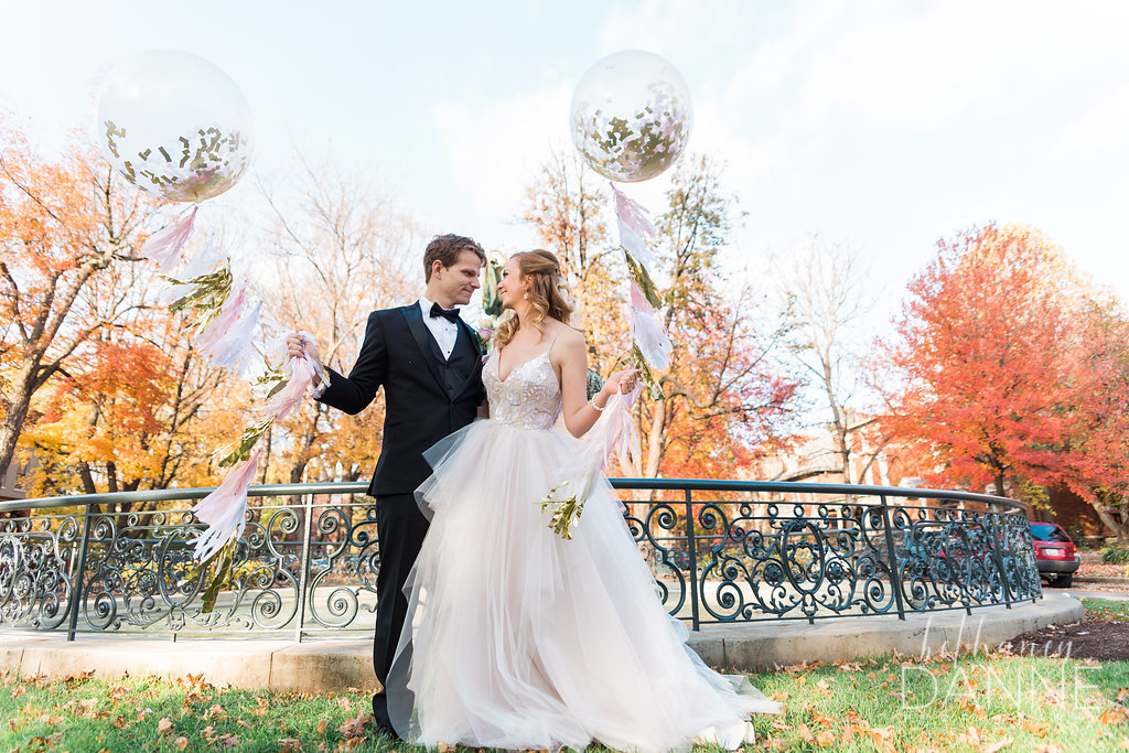 House of White Bridal Boutique Real Bride Hayley Paige Gown