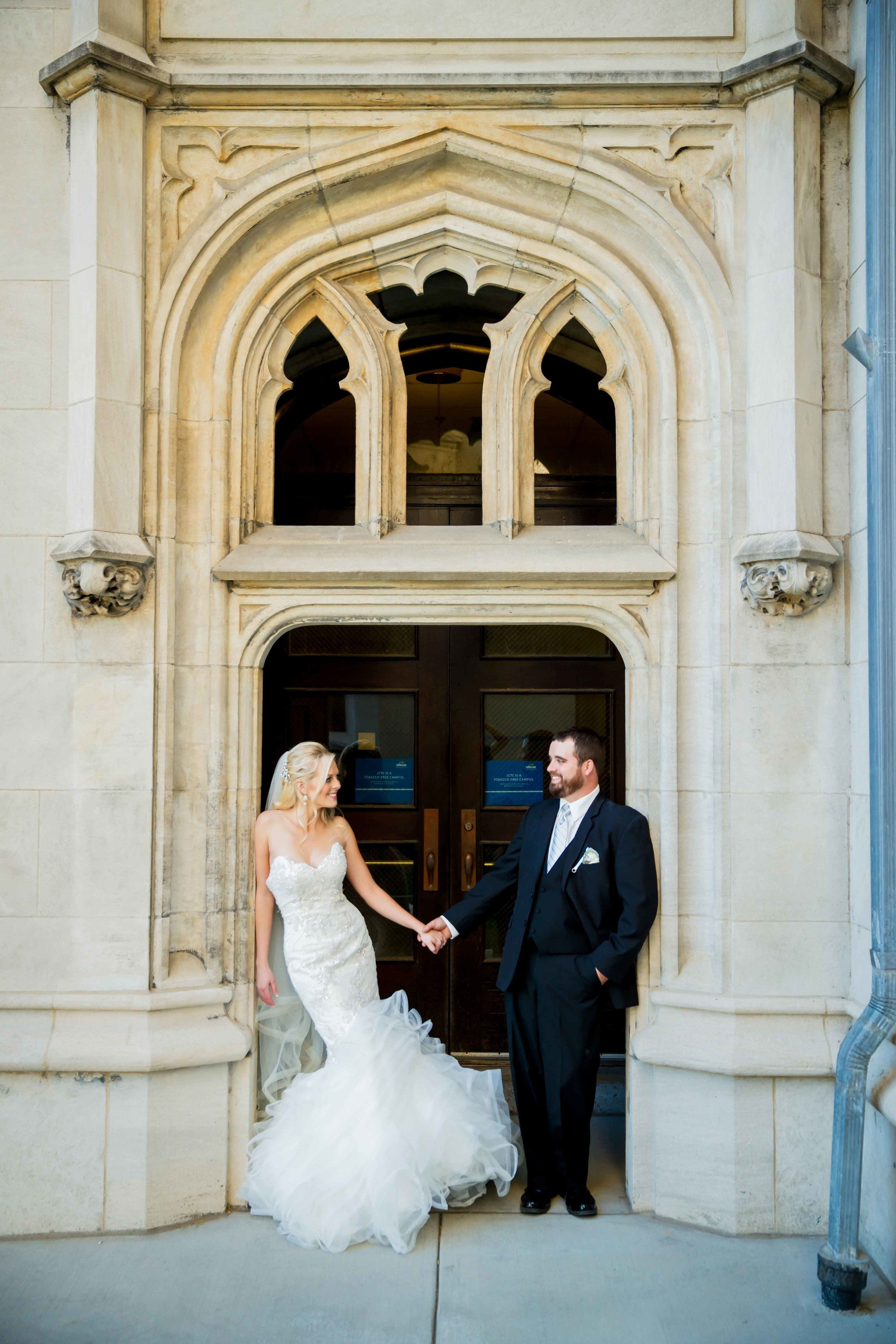House of White Bridal Boutique Real Bride Matthew Christopher Wedding Gown