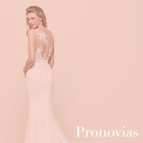 House of White Indiana Bridal Boutique Pronovias Wedding Gown