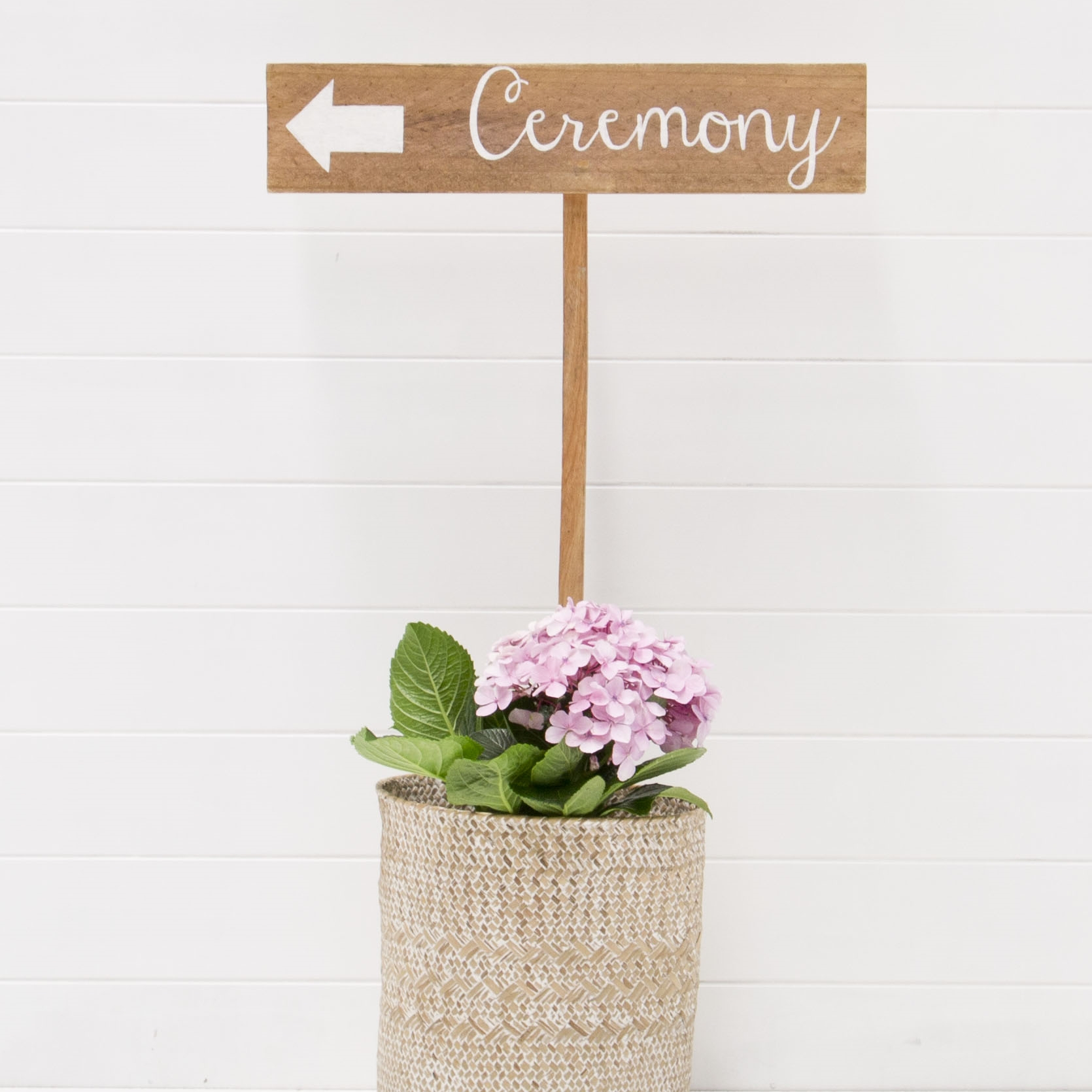 CEREMONY SIGN QTY: 1