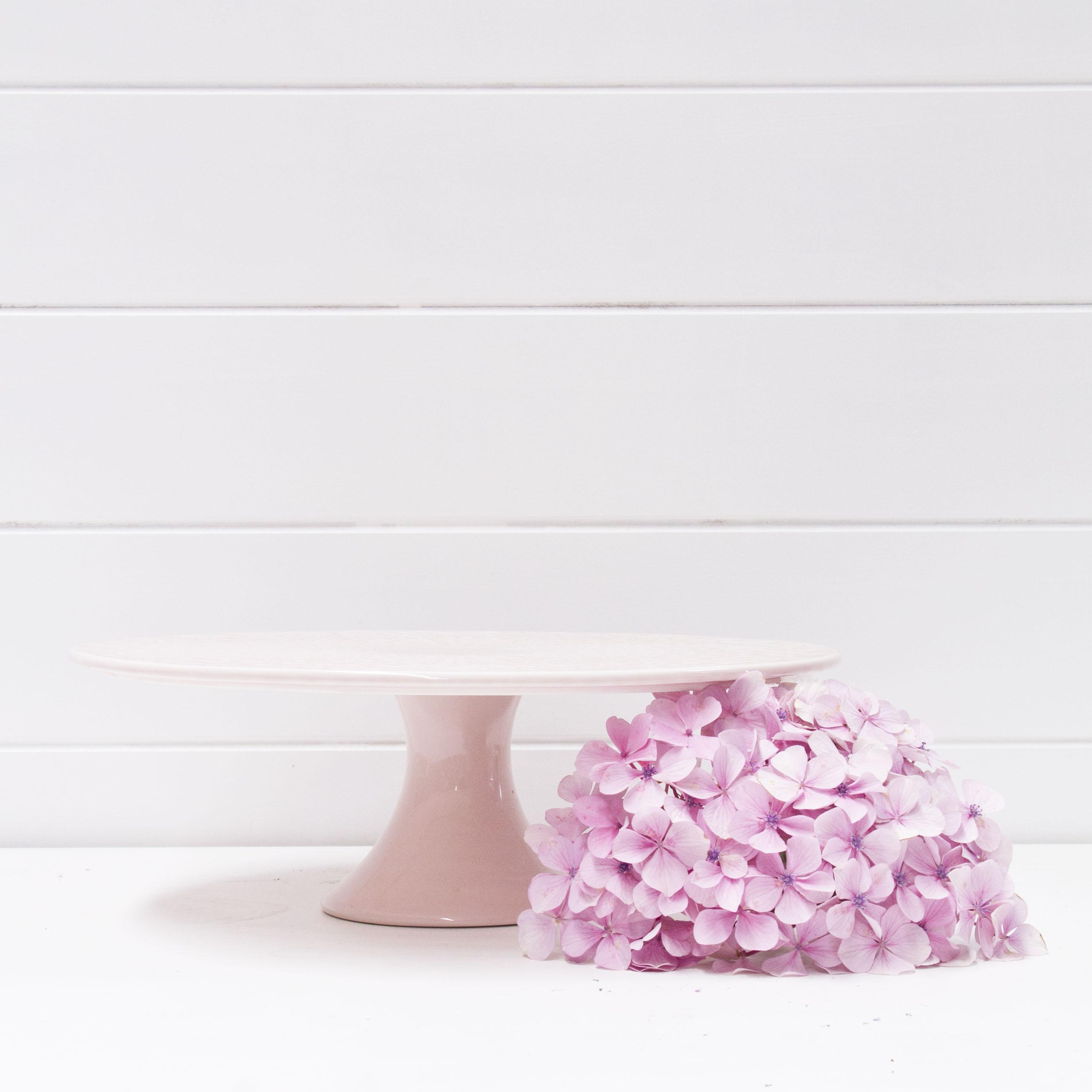 Blush Pink Cake Stand