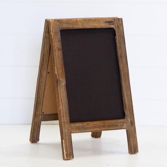 Small A-frame Chalk Board