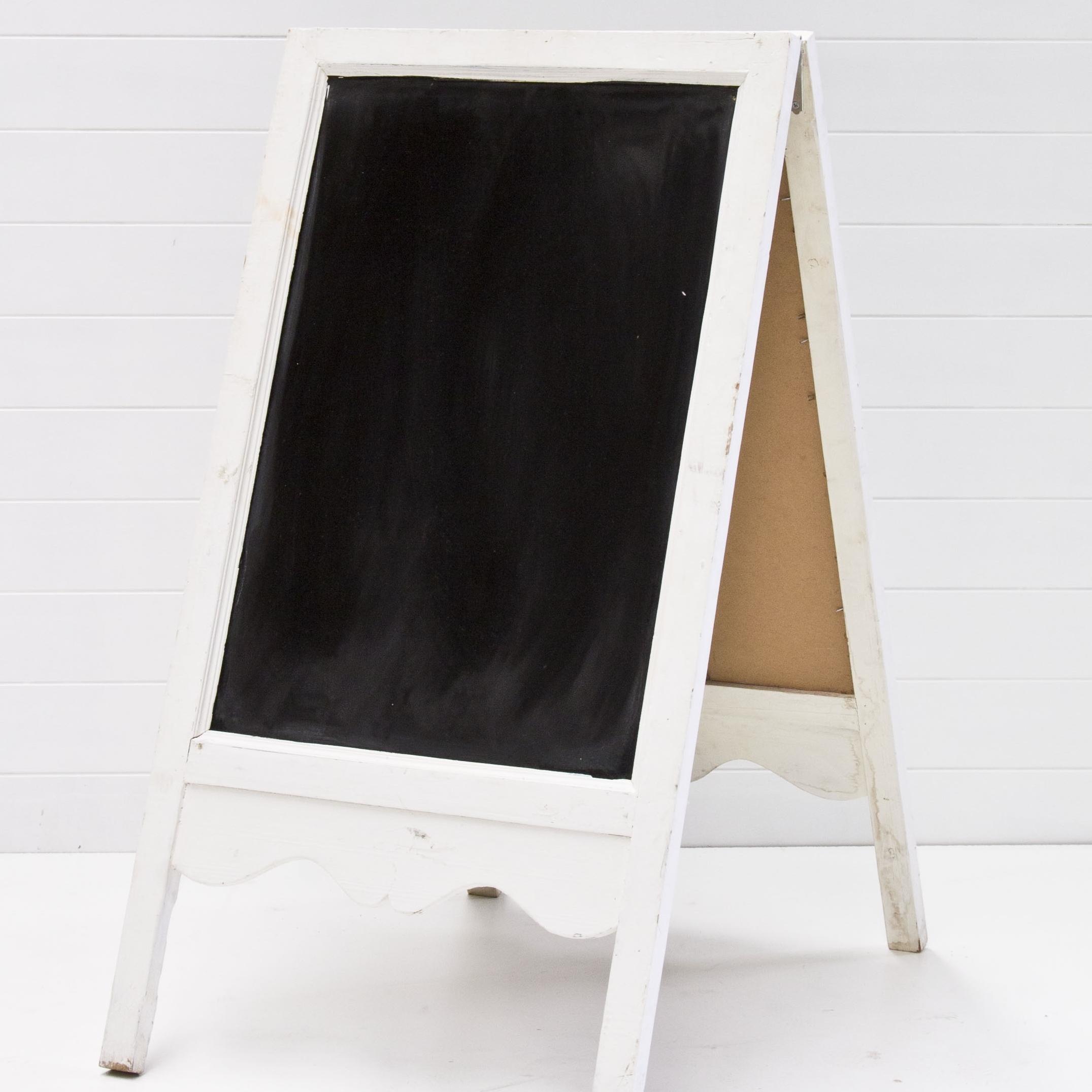Large A-frame Chalk Board