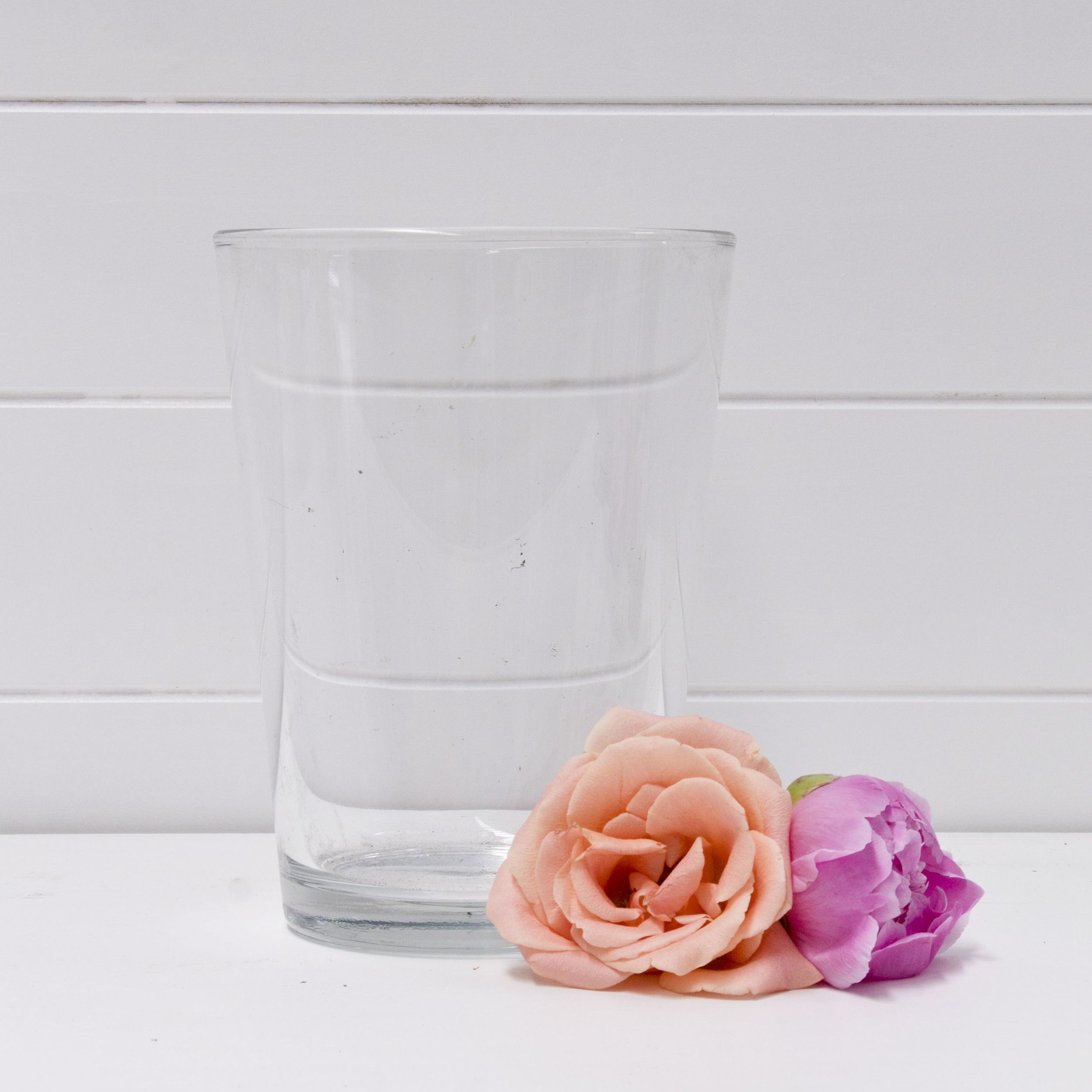 Medium Glass Cylinder Vase