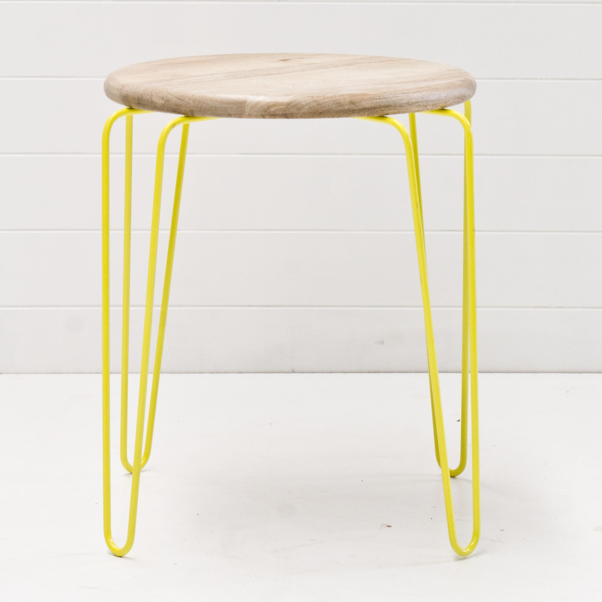 Yellow Summer Side Table