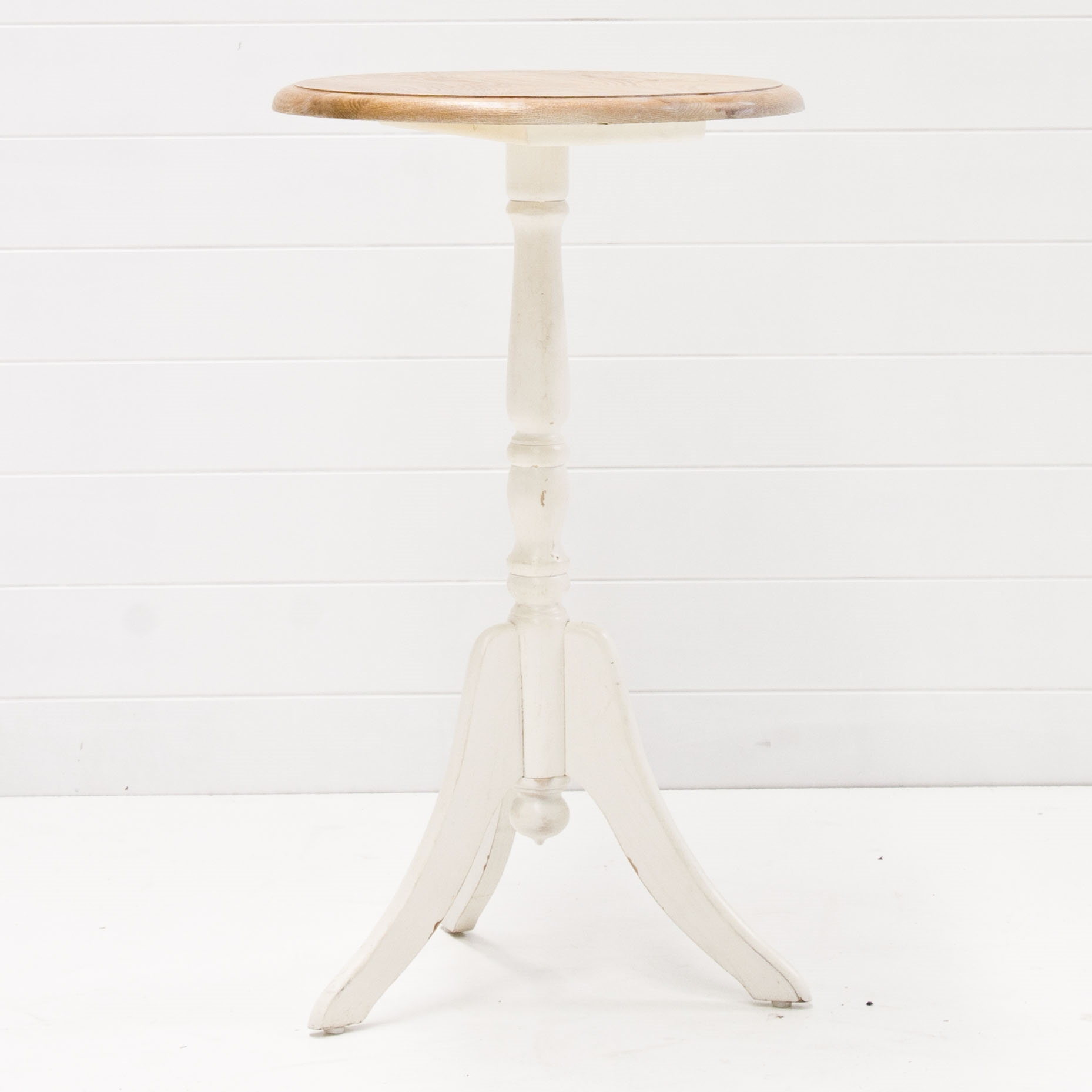 Round Table With White Base