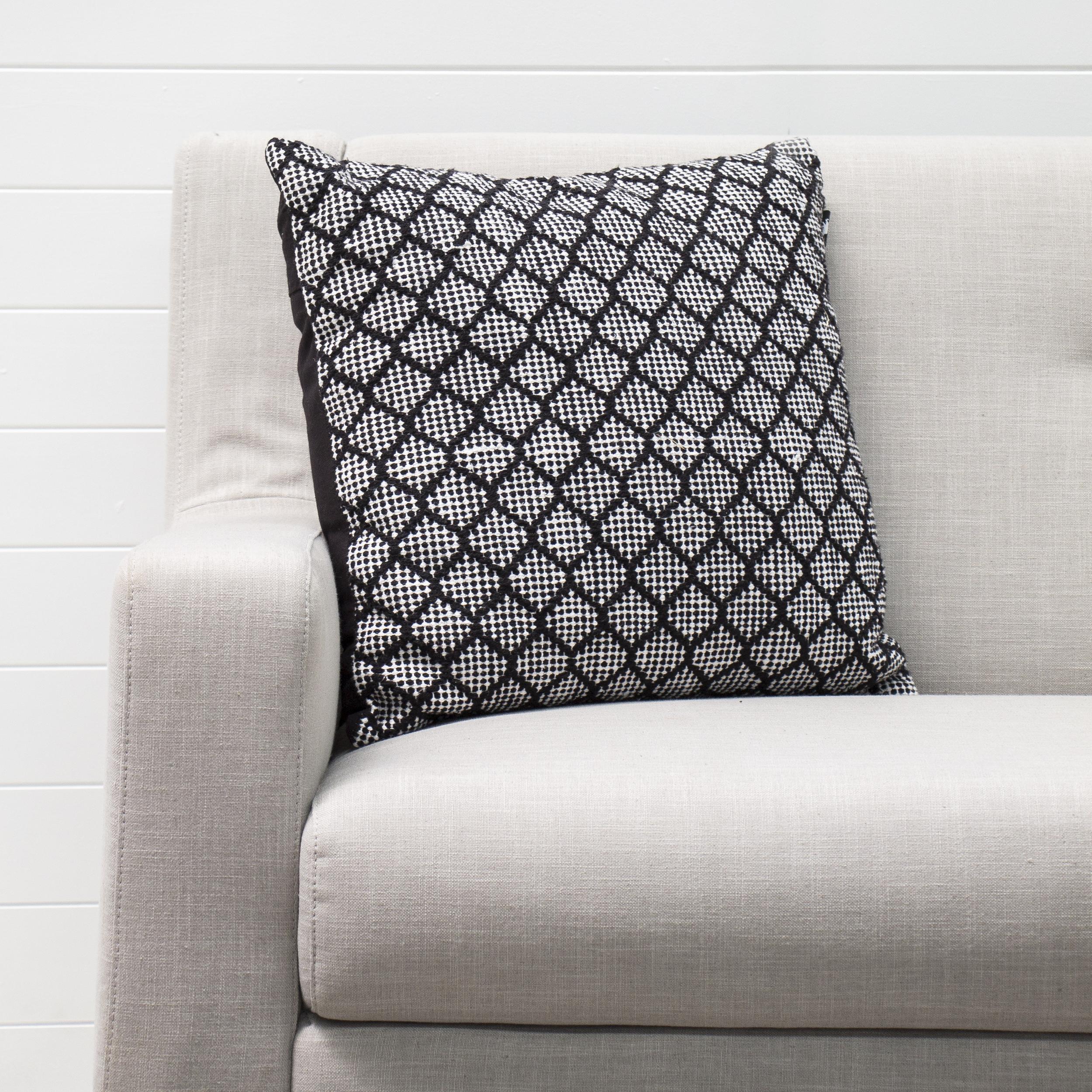 Black Hive Cushion