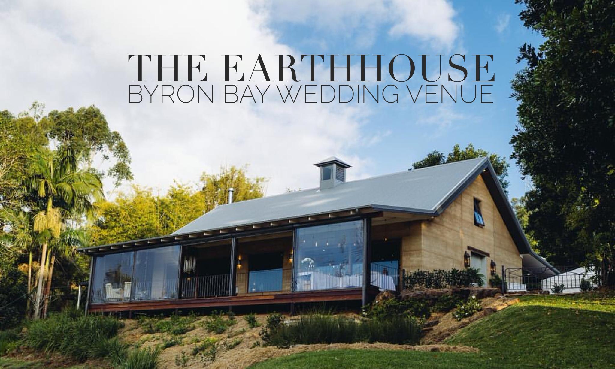 Wedding Venue EarthHouse Byron Bay