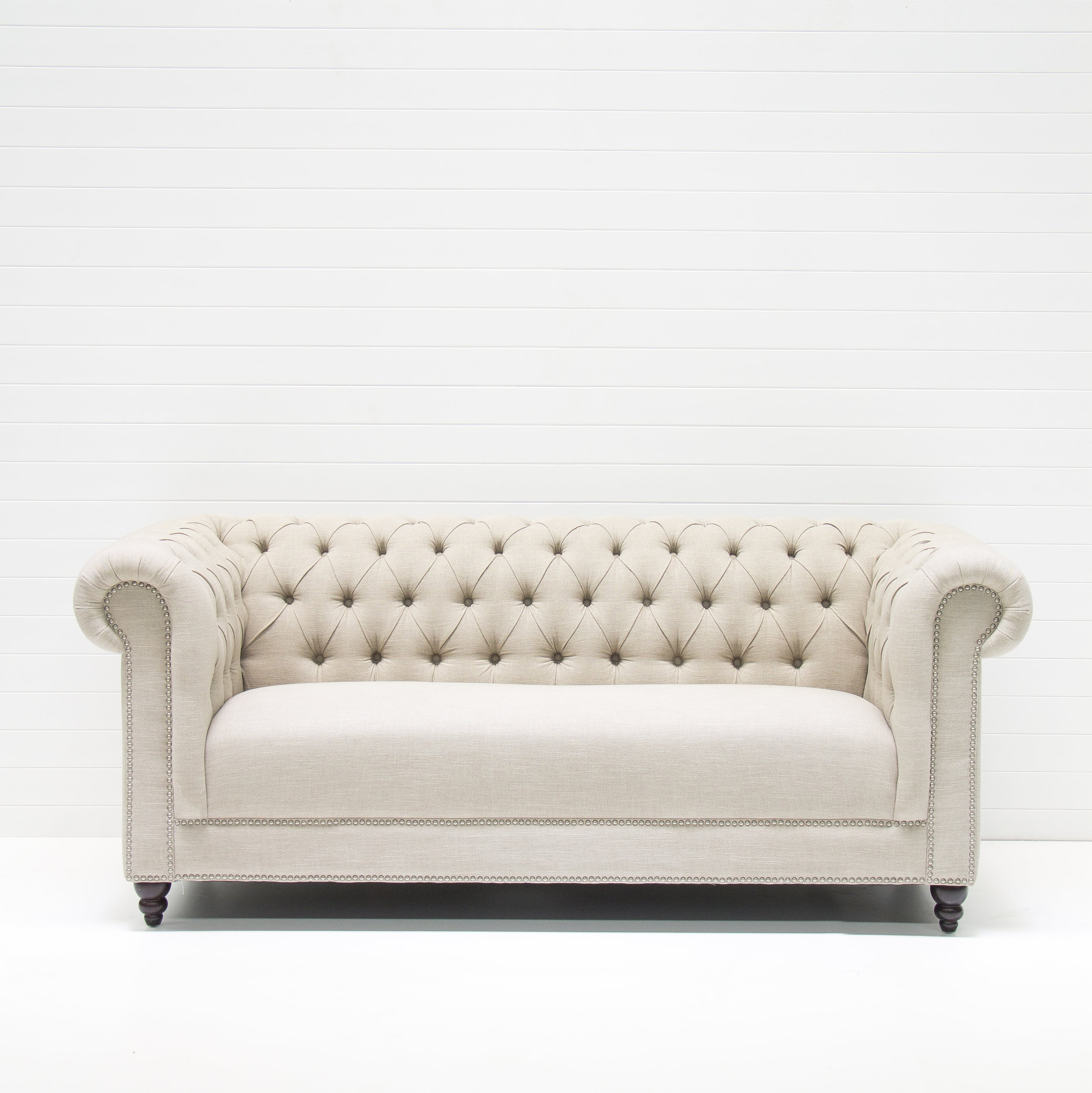 FRENCH STUDDED SOFA