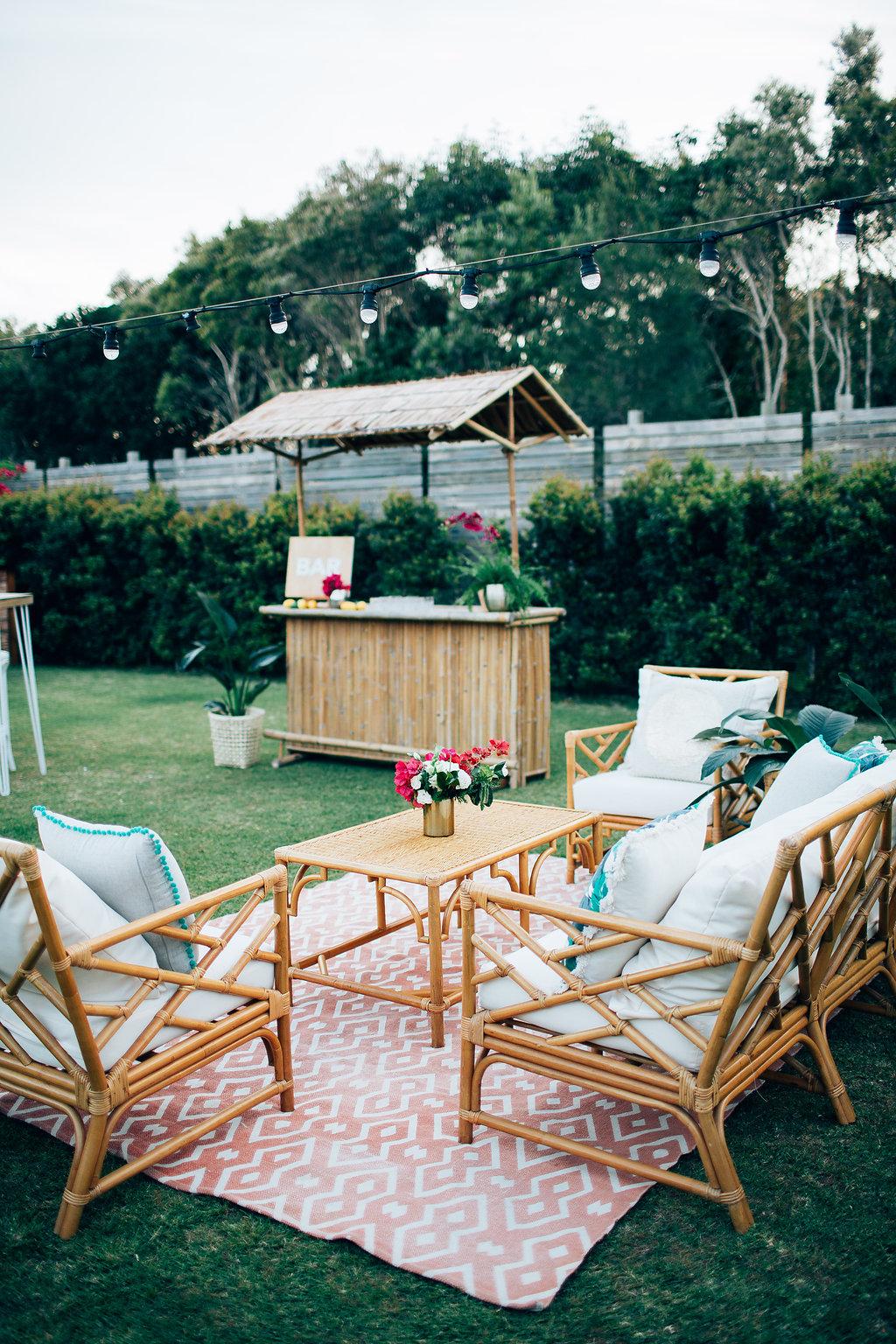 Hampton Event Hire | www.hamptoneventhire.com | Tropical shoot at Osteria Casuarina | Byron Bay, Brisbane and Gold Coast Wedding Hire |