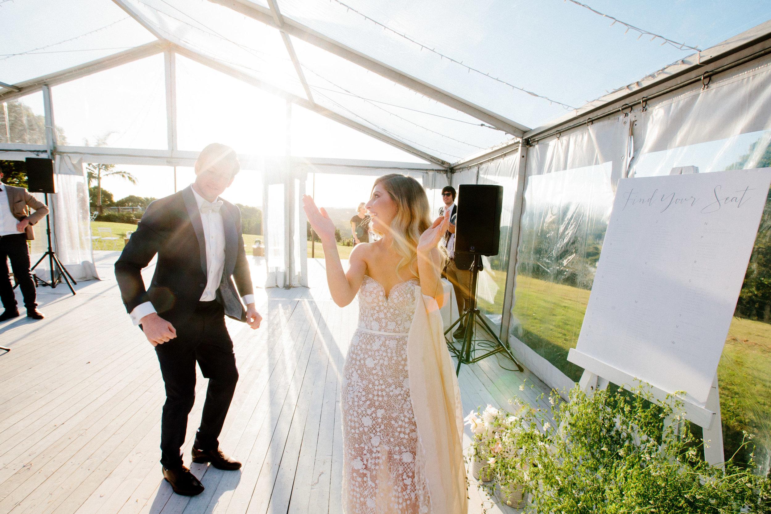 Hampton Event Hire - Wedding and Event Hire | Cedia House Byron Bay Wedding - Carla + Matt | www.hamptoneventhire.com | Photo by Brooke Adams Photography