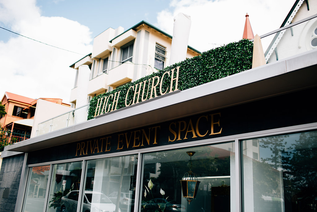 Hampton Event Hire - Wedding and Event Hire | High Church Brisbane Wedding Venue | www.hamptoneventhire.com | Photo by Figtree Pictures