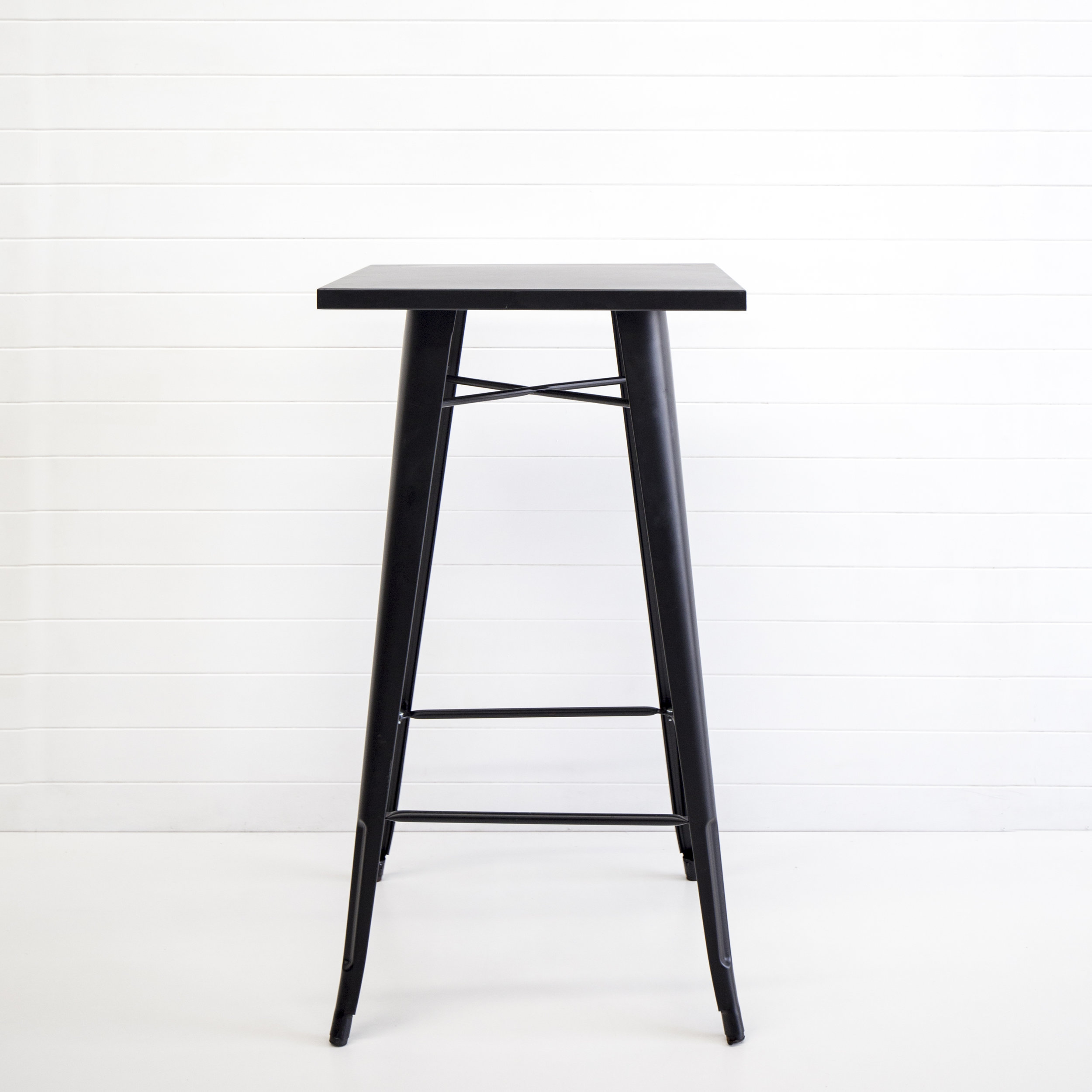Matte black tolix dry bar table.jpg