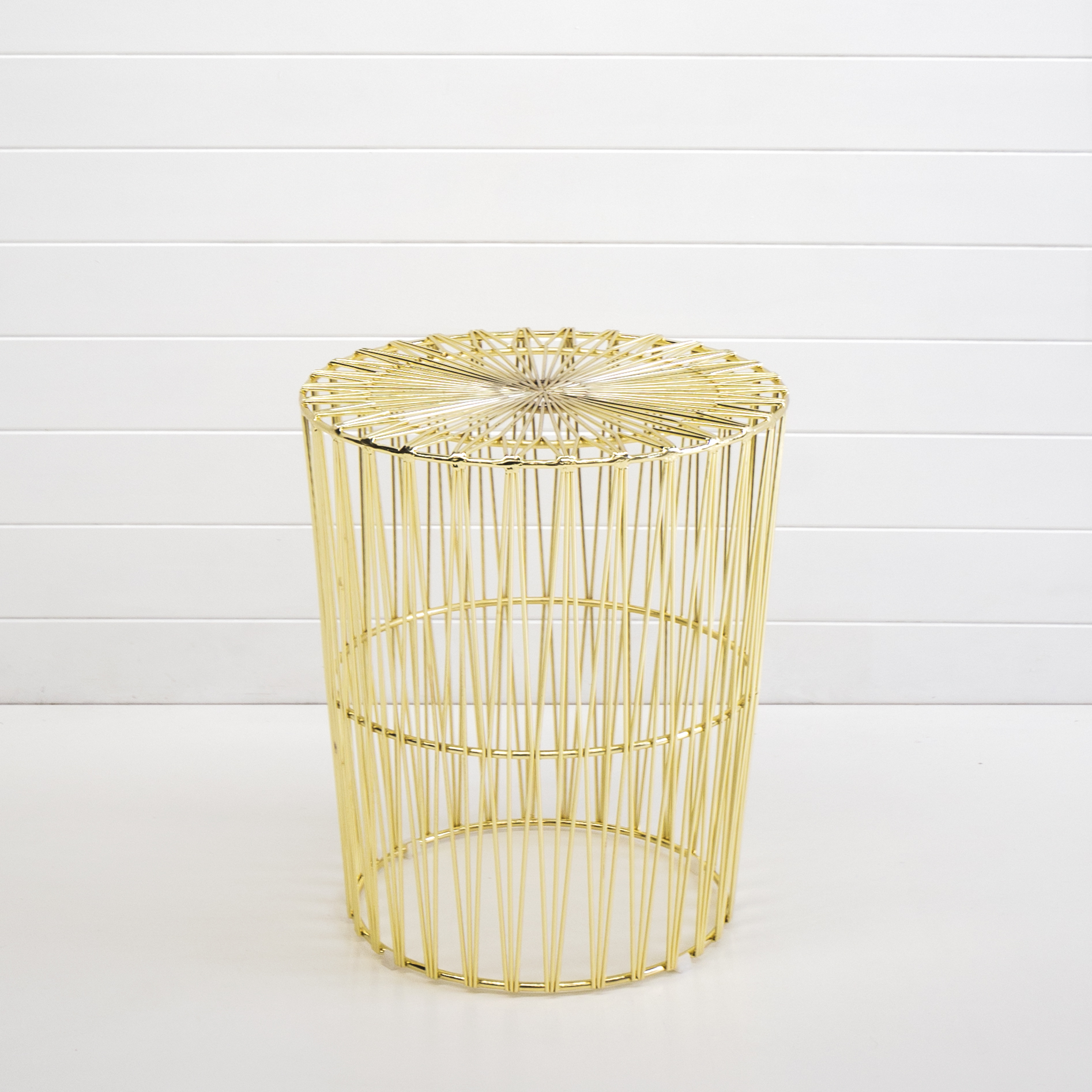 Gold Wire Soho Side Table