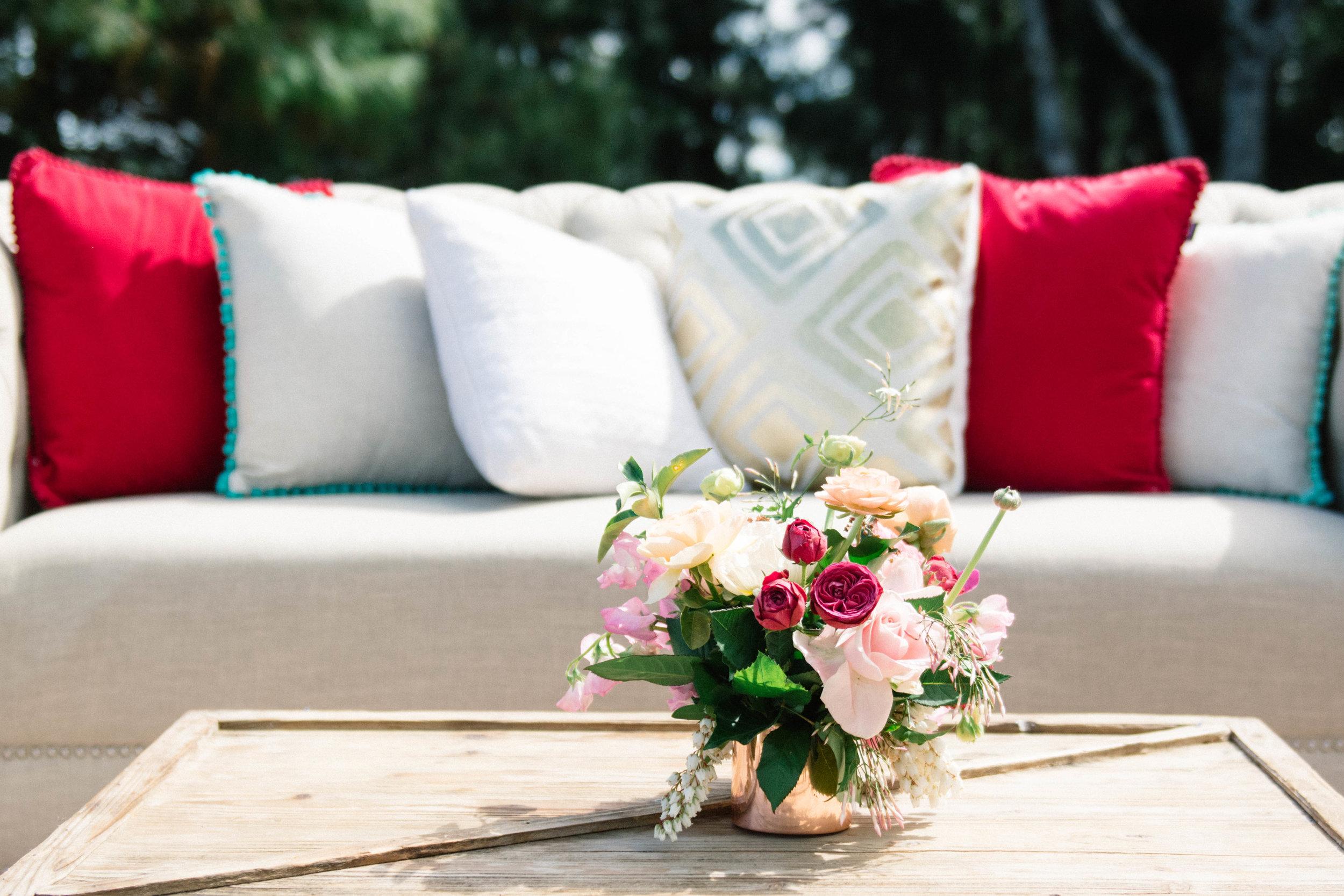 Hampton Event Hire - Wedding and Event Hire | Verandahs Byron Bay Wedding | www.hamptoneventhire.com
