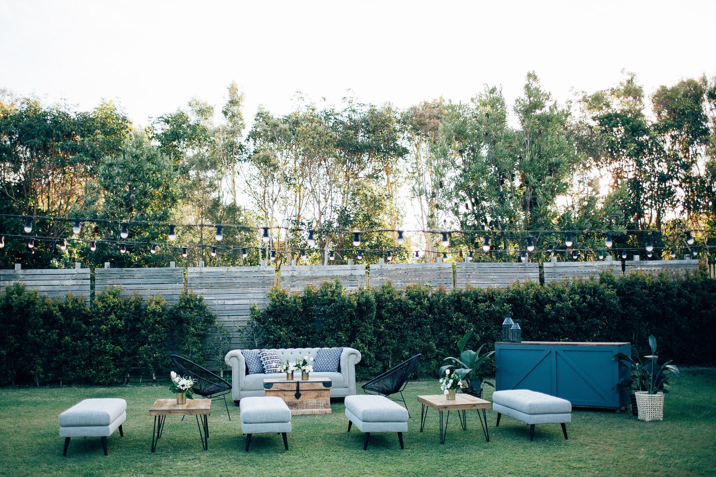 Cocktail Wedding Furniture Tips | Hampton Event Hire - Wedding & Event Hire | www.hamptoneventhire,com | Servicing Brisbane, Gold Coast and Byron Bay