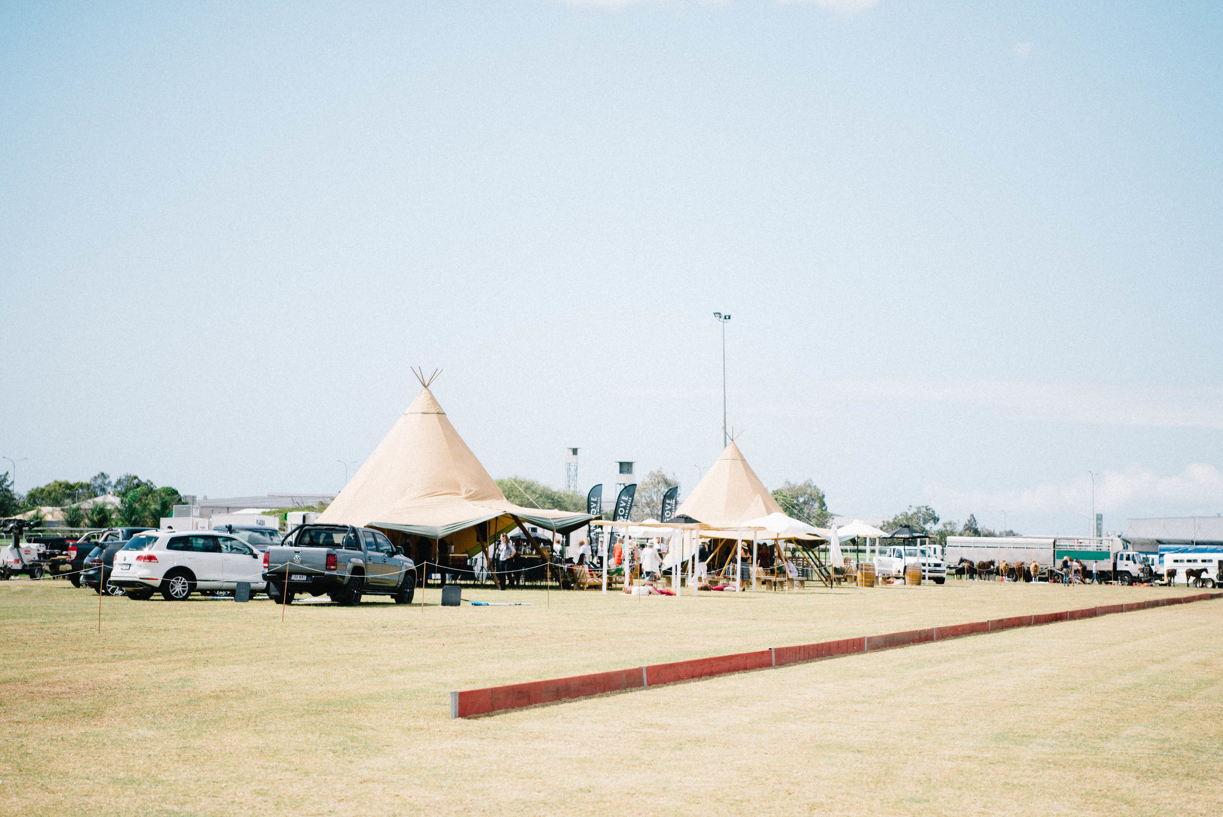 Hampton Event Hire | Brisbane Event Styling | www.hamptoneventhire.com | Polo Los Loosa, Doomben Racecourse