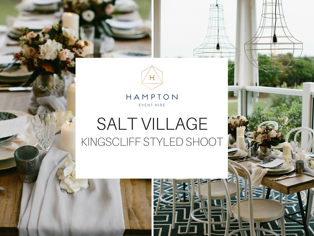 Hampton Event Hire - Wedding and Event Hire | Salt Village, Kingscliff Styled Shoot | www.hamptoneventhire.com | Photo by Ryder Evans Photography