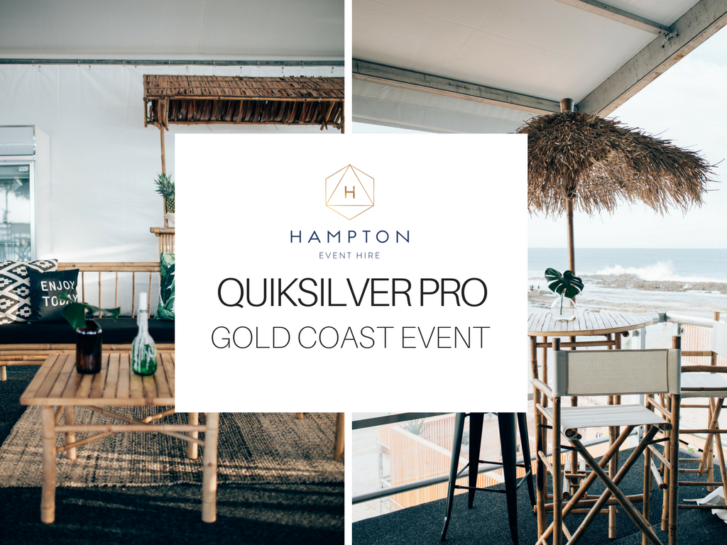 Quiksilver Pro | Hampton Event Hire - Wedding and Event Hire | www.hamptoneventhire.com | Photo by Figtree Pictures | Gold Coast Event Styling
