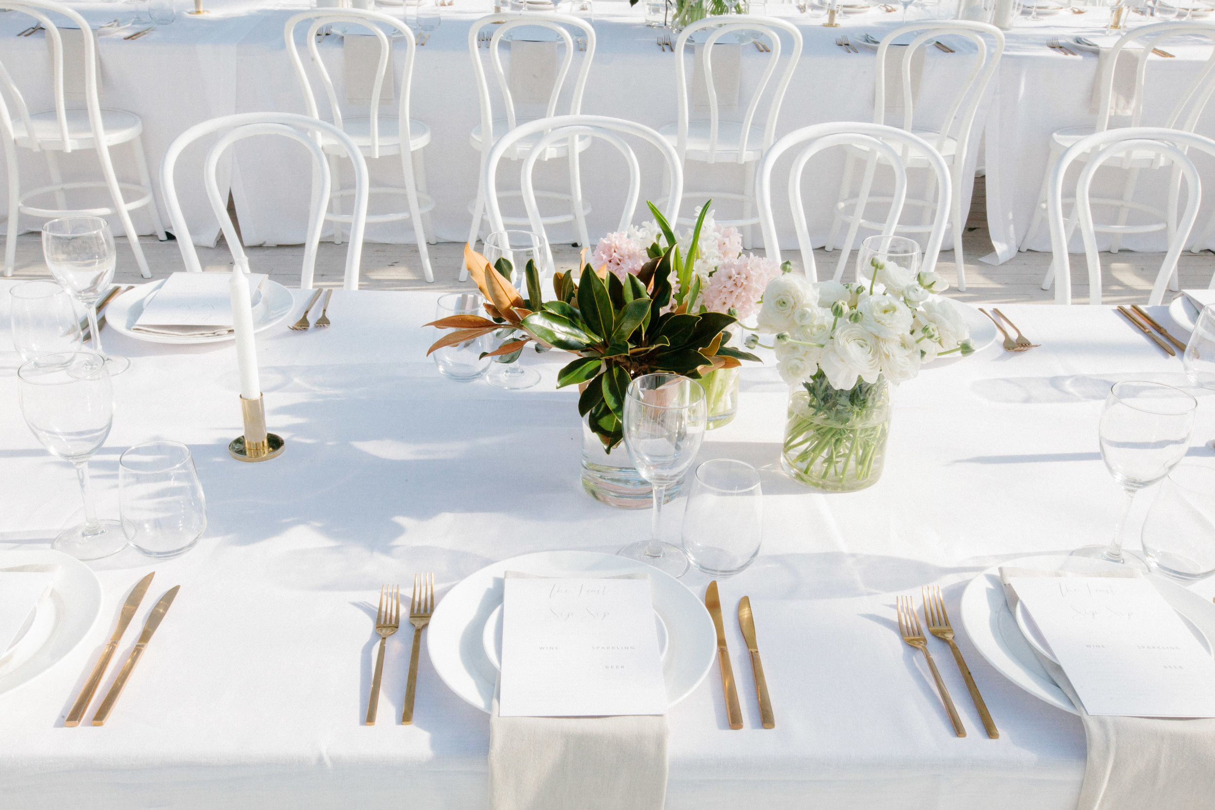 Photo by  Brooke Adams Photography  / Styled by  CL Weddings and Events