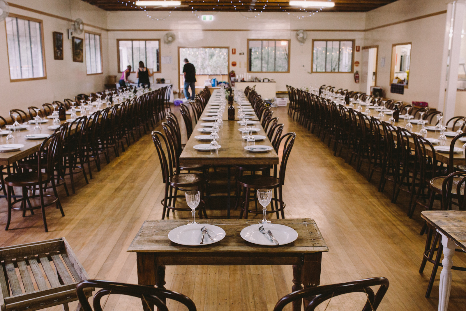 Ashley and Alex | Mt Pleasant Hall and Henzells Chapel wedding | Hampton Event Hire - wedding and event hire | www.hamptoneventhire.com | Walnut bentwood chairs | Photo by Dean Raphael