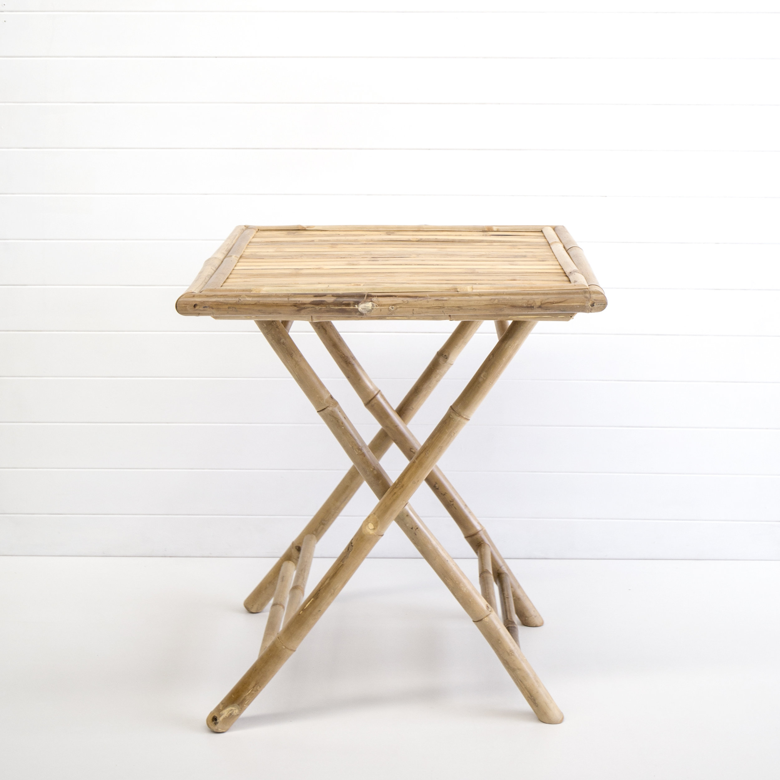 Bamboo Folding Tables