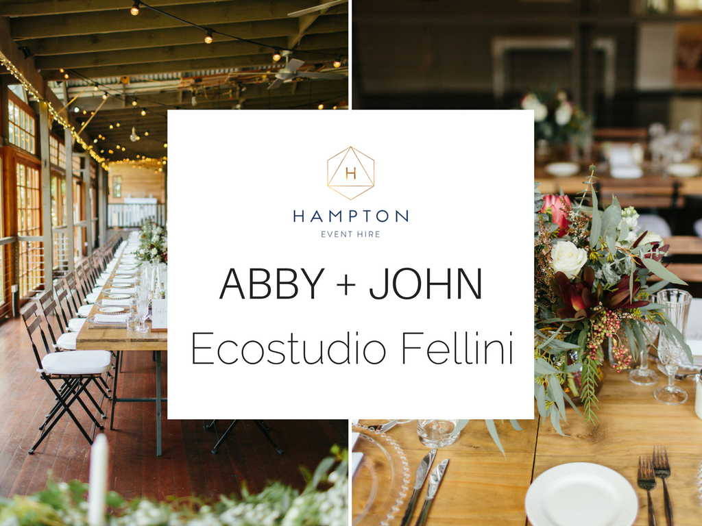 Real Wedding - Abby + John | Ecostudio Fellini - Gold Coast wedding venue | www.hamptoneventhire.com | Photo by Finch and Oak Photography