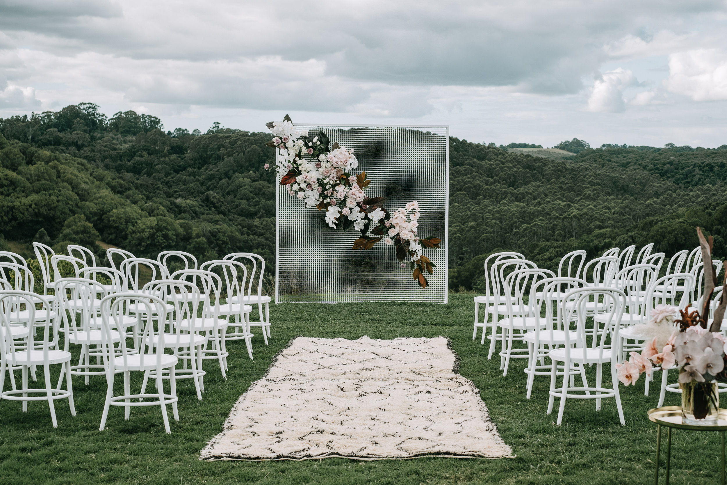Styling by  The Events Lounge  / Florals by  Bower Botanicals  / Image by  Lucas and Co Photography
