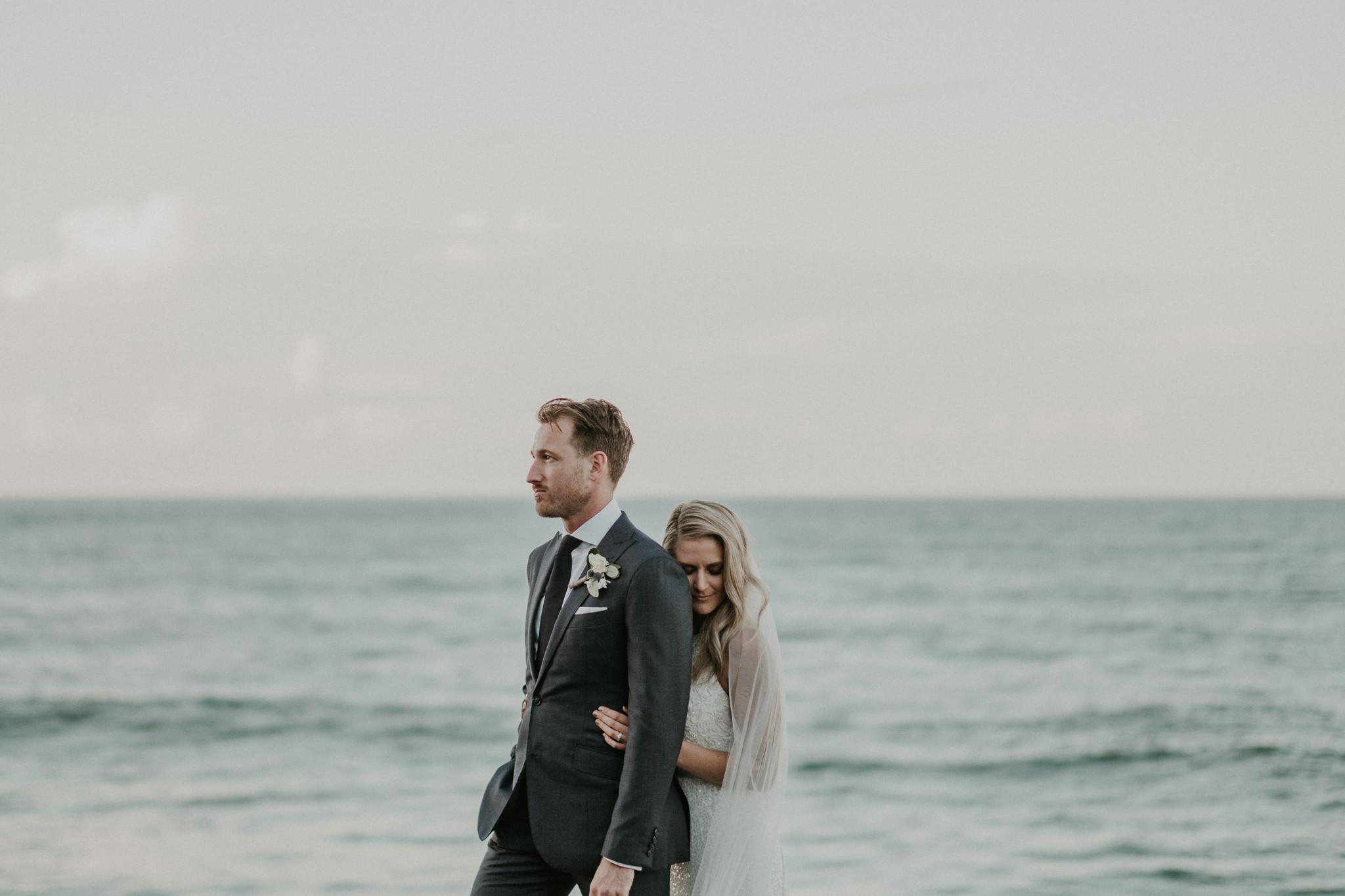Krystle + Ben | Gold Coast Wedding Venue - Kirra Hill Community Centre | www.hamptoneventhire.com | Image by Lucas and Co Photography
