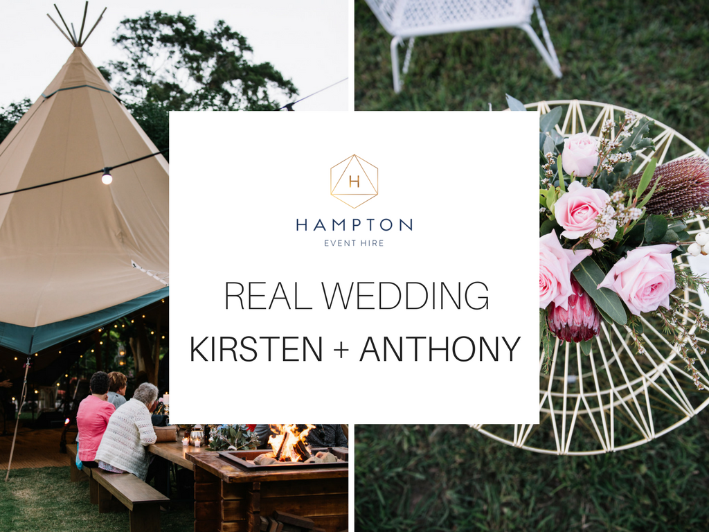 Real Wedding - Kirsten + Anthony | Riverwood Weddings, Gold Coast Hinterland wedding venue | Hampton Event Hire - www.hamptoneventhire.com | Image by This Day Forward