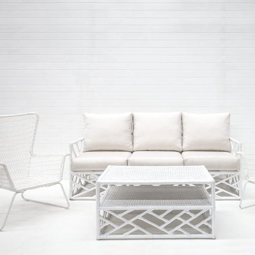 WHITE SUMMER SOFA PACKAGE