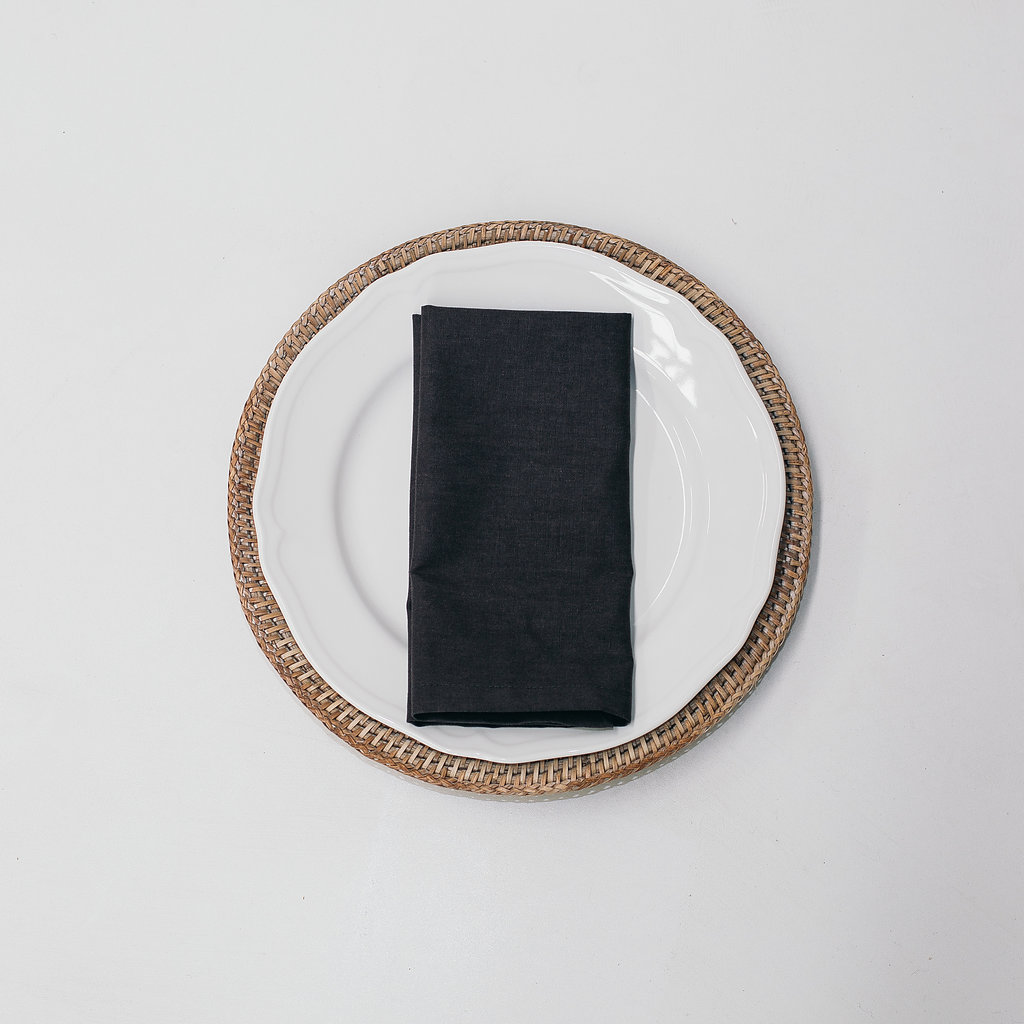 Charcoal Linen Napkin