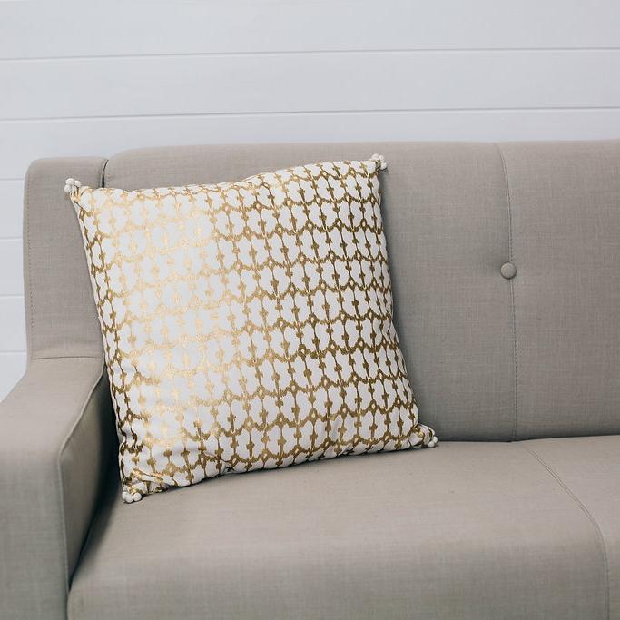 Zulu Gold Cushion