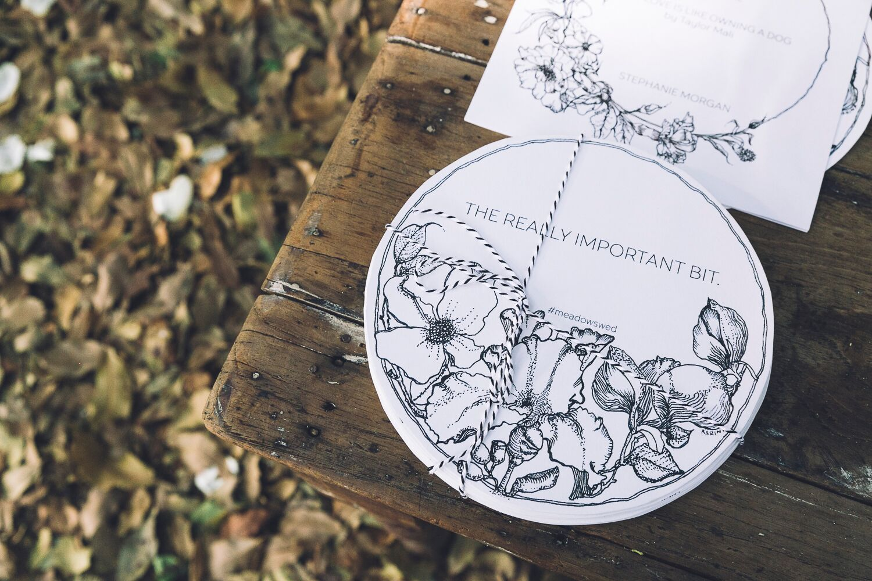 The Farm Byron Bay Wedding | Hampton Event Hire | Photo by Kate Holmes | Stationery