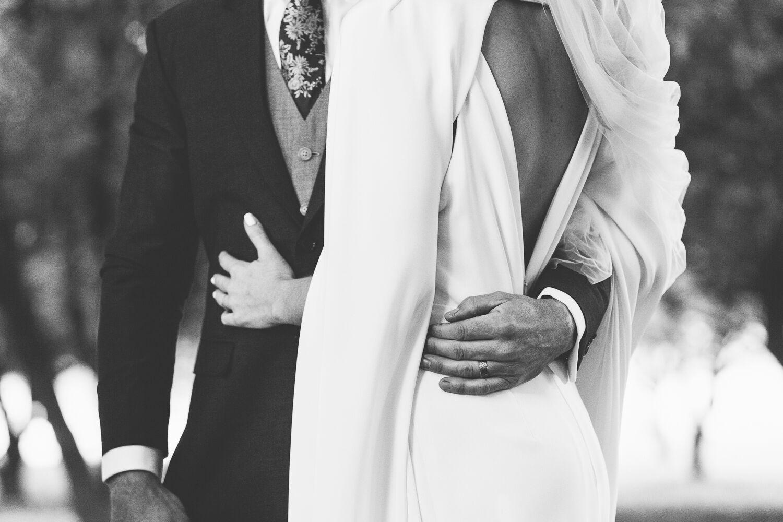 The Farm Byron Bay Wedding | Hampton Event Hire | Photo by Kate Holmes | Bride and groom