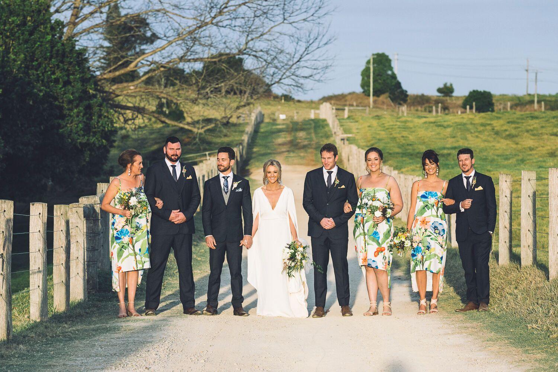 The Farm Byron Bay Wedding | Hampton Event Hire | Photo by Kate Holmes | Bridal party