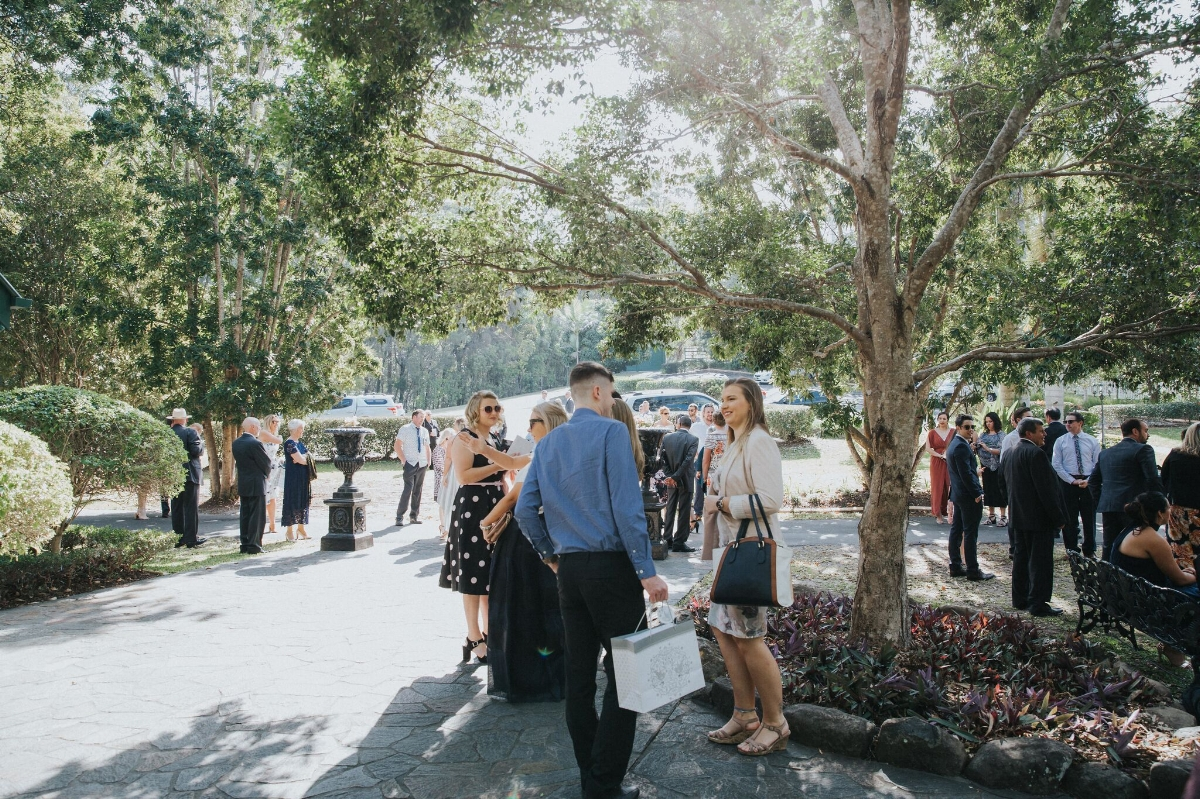Melissa and Adam Coolibah Downs Wedding | Hampton Event Hire | Photo by White Fox Studios | ceremony