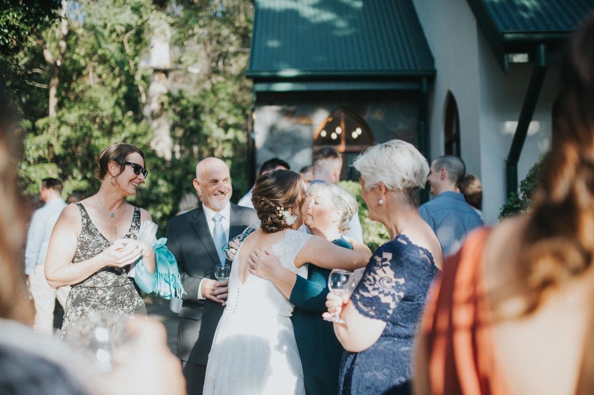 Melissa and Adam Coolibah Downs Wedding | Hampton Event Hire | Photo by White Fox Studios | post-ceremony