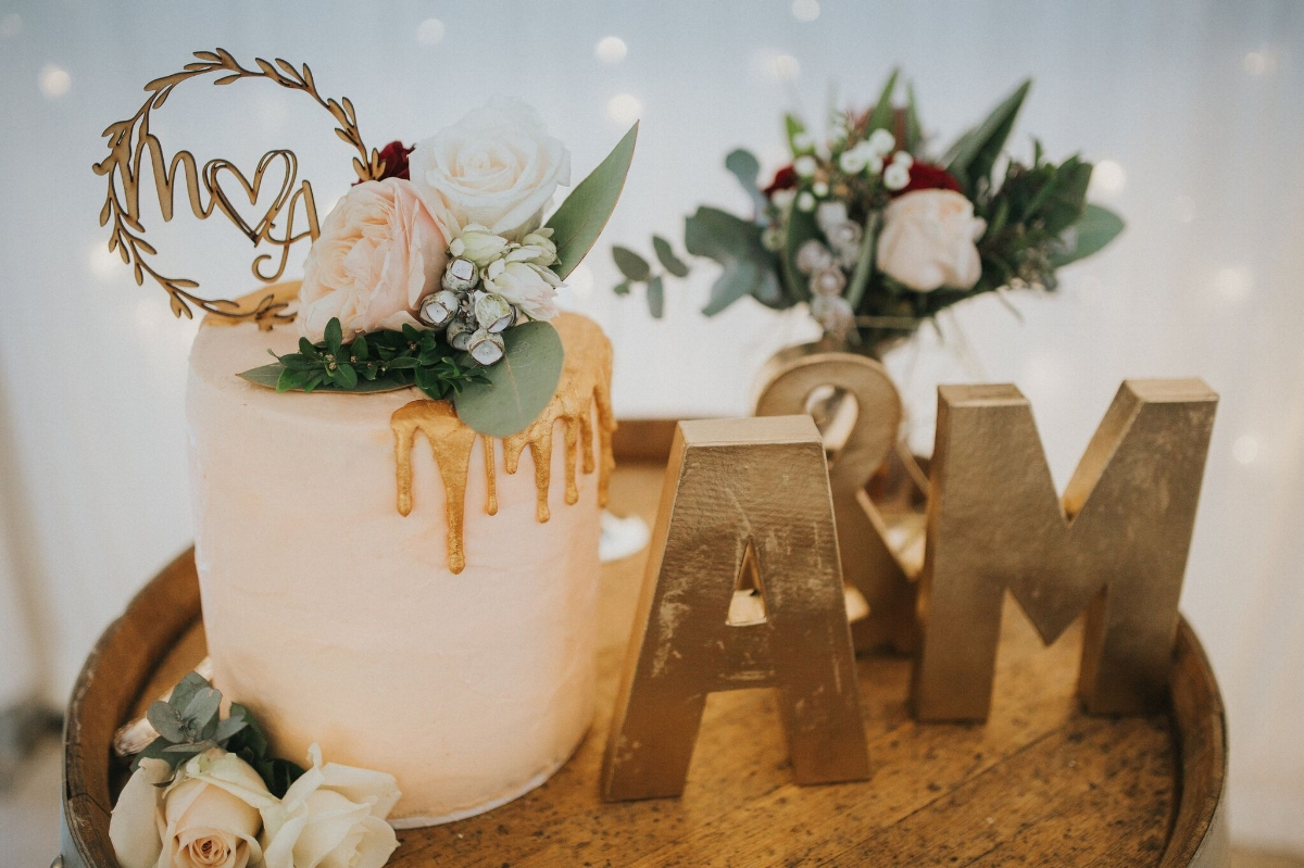 Melissa and Adam Coolibah Downs Wedding | Hampton Event Hire | Photo by White Fox Studios | cake table